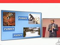 Funky fuzzy funny